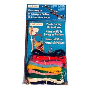 Summer Crafts Plastic Lacing Kit Creatology
